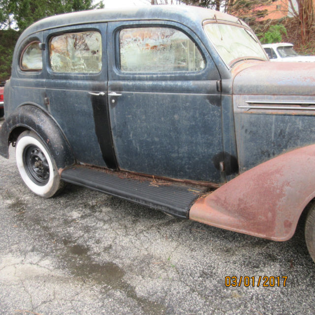 1936 plymouth great project car or hot rod for 1936 plymouth 4 door