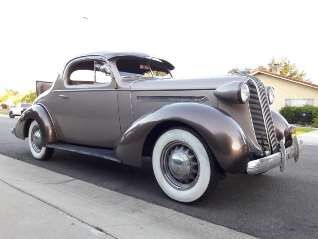 1936 pontiac 3 window coupe w factory rumble seat 1935 for 1930 pontiac 3 window coupe