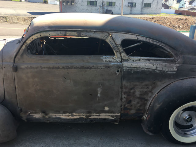 1937 Dodge Coupe Street Rod Project Car For Sale: 1937 Buick Custom Street Rod Project Chopped 1947 Pontiac