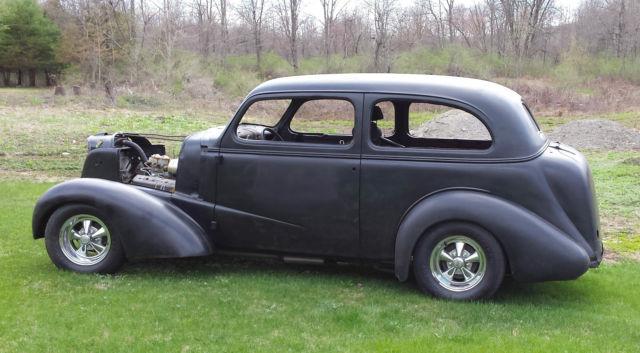 1937 chevy 2 door sedan street rod  hot rod  rat rod