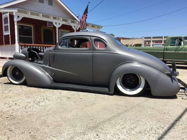 1937 Chevy Chevrolet Coupe Chopped Old School Hot Rod Rat Rod