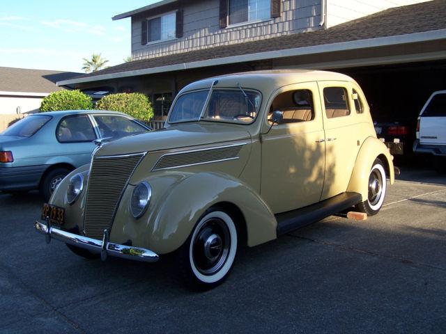 1937 ford 4dr slantback for 1937 ford 2 door slant back