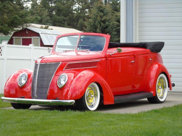 1937 Ford Four Door Sedan Convertible Steel Street Rod
