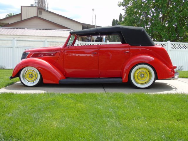 1937 ford four door sedan convertible steel street rod for 1937 ford 4 door sedan for sale