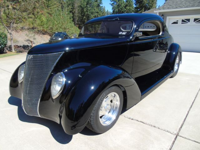 1937 ford minotti three window coupe street rod 700 miles for 1937 ford 3 window