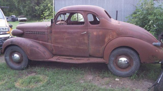 1938 1937 Chevrolet Master Coupe Rat Rod Patina Gasser 38