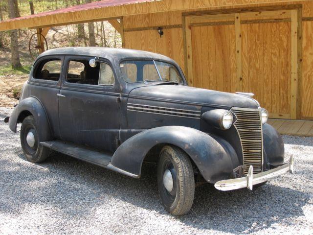 1938 chevrolet chevy 2 door sedan