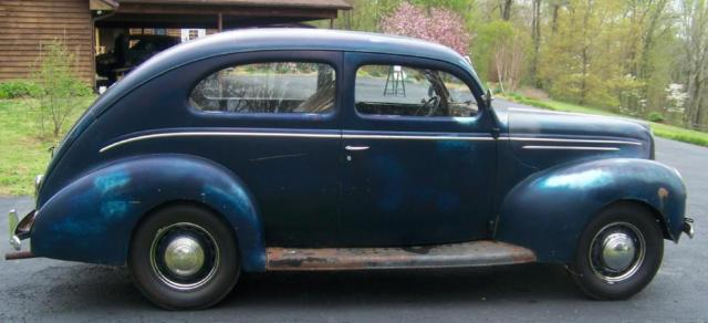 1939 ford delux 2 door sedan runs drives all original for 1939 ford 2 door sedan for sale