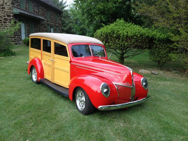 1939 Ford Woody Woodie Wagon