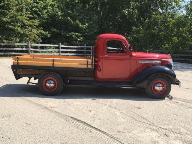 1939 Gmc Ac 152 3 4 Ton Pickup Stake Body