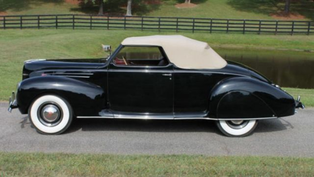 1939 lincoln zephyr convertible coupe 32 36 1937 1938 1940 1941 mercury ford. Black Bedroom Furniture Sets. Home Design Ideas