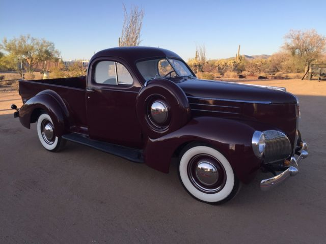 1939 Studebaker Coupe Express Wow
