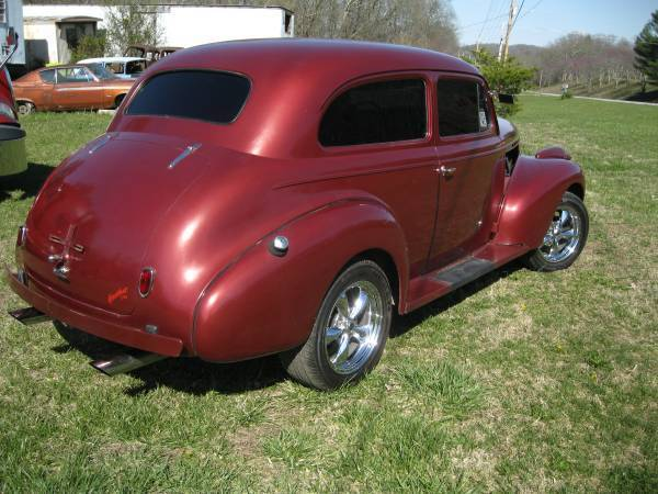 1940 chevrolet 2 door sedan street rod for 1940 chevrolet 2 door sedan