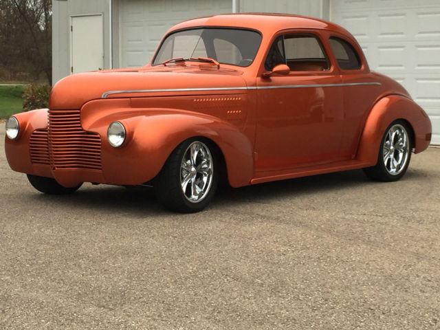 1940 Chevy Master Deluxe Business Coupe Custom Built