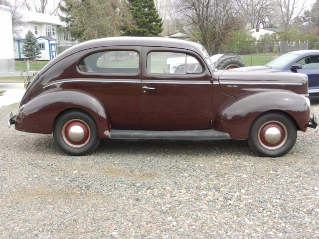 1940 ford deluxe original 2 door sedan for 1940 ford deluxe two door business coupe