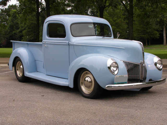 1940 Ford Pickup Frame Off Restoration