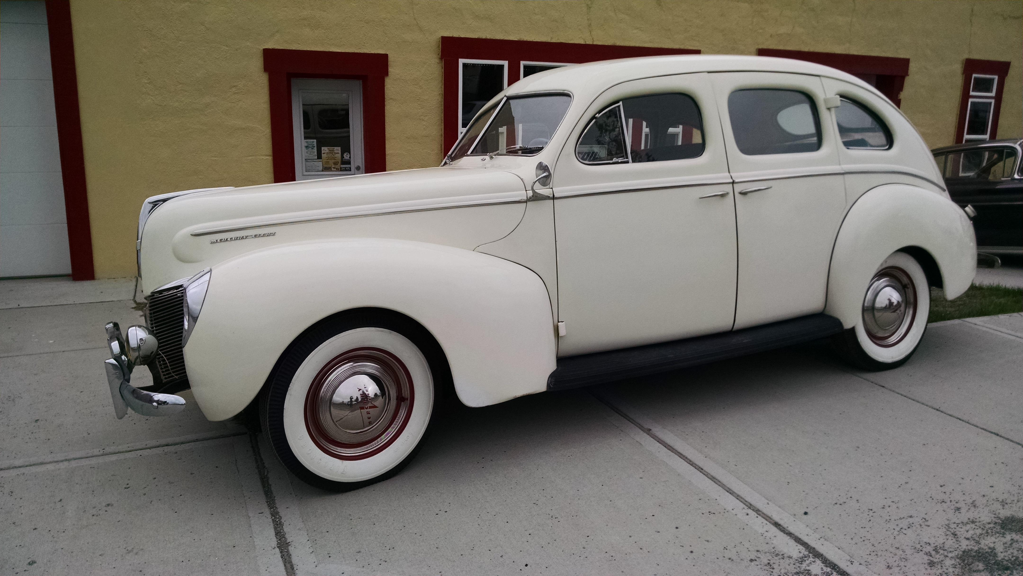 1940 Mercury Sedan 69730 Miles Cream 239 V8 Manual 1941 4 Door Prevnext