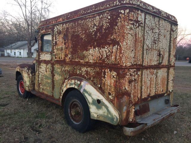 1941 international kb3 bread truck patina metro rat rod