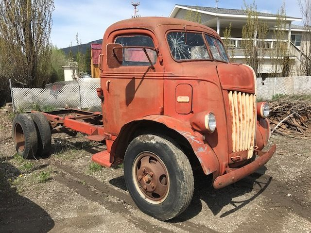 1946 1947 1941 1942 Ford COE Cabover Truck Flathead V8 ...