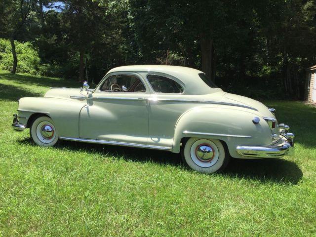 1946 chrysler royal club coupe for 1941 chrysler royal 3 window coupe