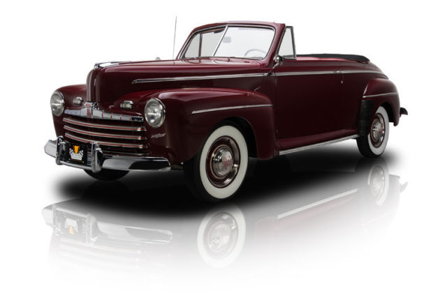 1946 Ford Super Deluxe Convertible 4386 Miles Dynamic