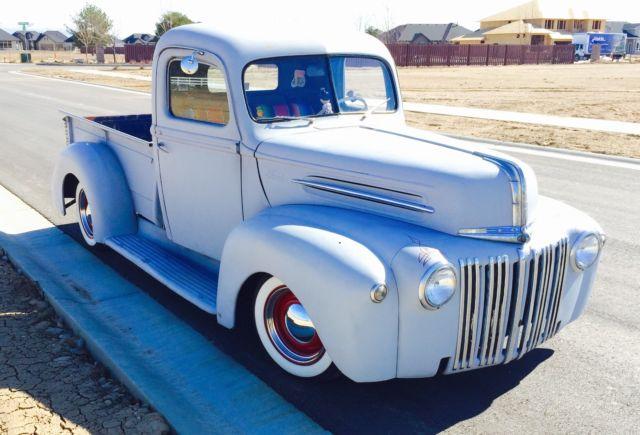 1946 ford truck hot rod rat rod vintage antique pickup