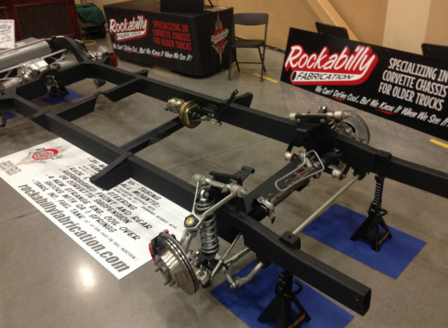 1947 1959 Chevy Truck Chassis With Corvette Suspension