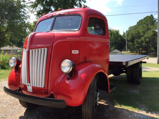 1947 ford cabover classic coe truck cab over engine ton for Ford truck motors for sale