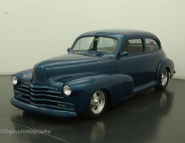 1948 chevy classic custom street rod 2 door sedan for 1948 chevy 2 door