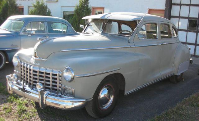1948 Dodge 4 Door Sedan Beautiful Upholstery Suicide Doors