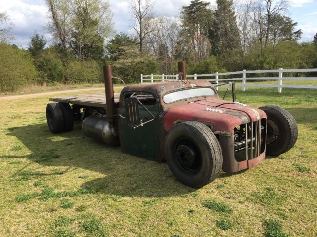 F Rat Rod Flatbed Hauler One Bad Ride One Of A Kind Don T Miss Out on 1948 Ford Truck Vin Number Location