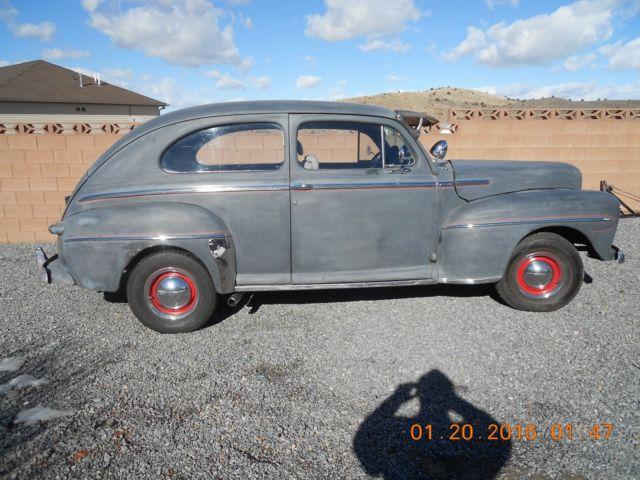 1948 ford 2 door sedan vintage old school hot rod antique for 1948 ford 2 door sedan