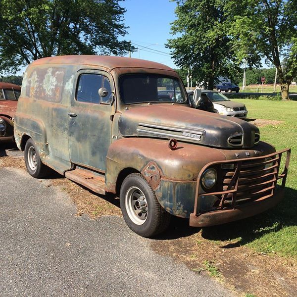 Ford Panel Truck on 1953 Ford Flathead V8 Engine