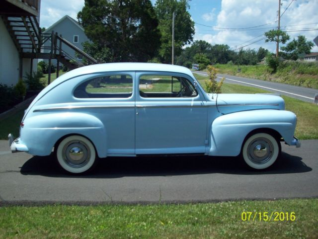 1948 ford super deluxe 6 two door sedan for 1948 ford 2 door coupe