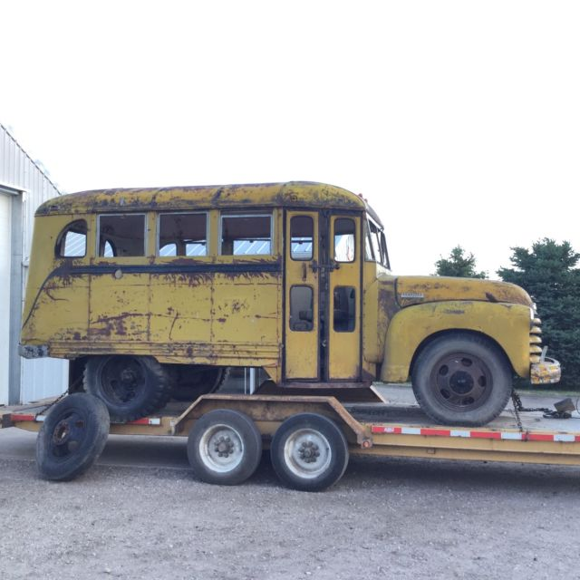 1949 1950 Chevy Bus Coe Ford Rat Rod Truck 1955 1953 1952