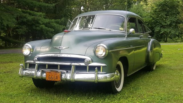 1949 chevrolet fleetline deluxe sedan 4 door 3 5l
