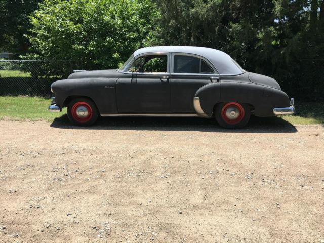 1949 chevrolet styleline deluxe sedan 4 door blue flame 235 for 1949 chevy 4 door deluxe