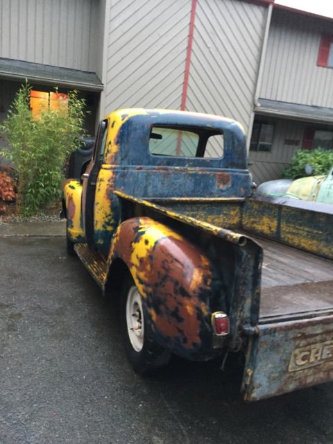 1949 Chevy Gmc Truck 1 2 Ton Shortbed Rat Rod 1950 1948