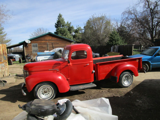 1949 International Harvester Kb1 Kb 1 1 2 Ton Pick Up