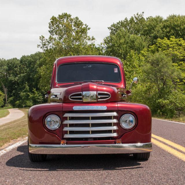 1949 mercury m47 half ton custom pickup truck completely restored custom build. Black Bedroom Furniture Sets. Home Design Ideas