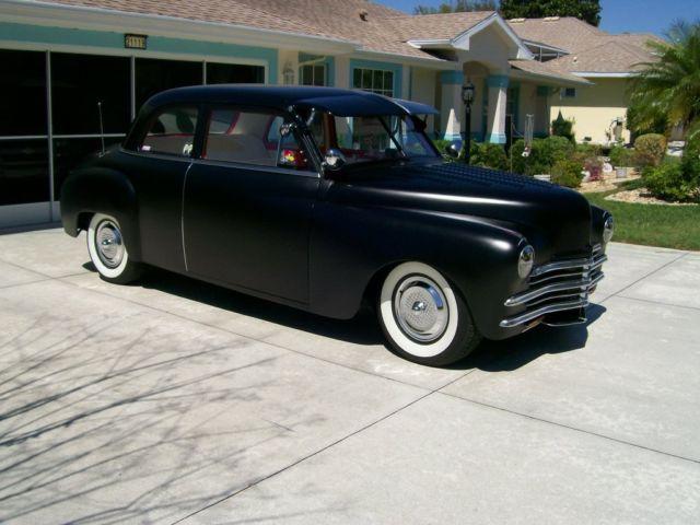 1949 plymouth two door sedan street rod v8 350 rwd classic for 1949 plymouth 2 door sedan