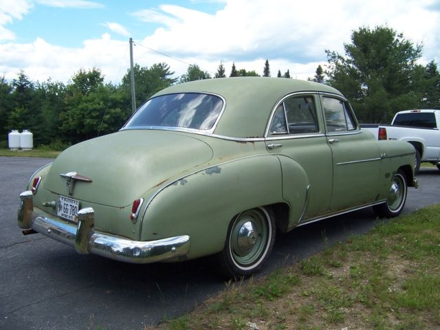1950 chevrolet styleline deluxe sedan 4 door