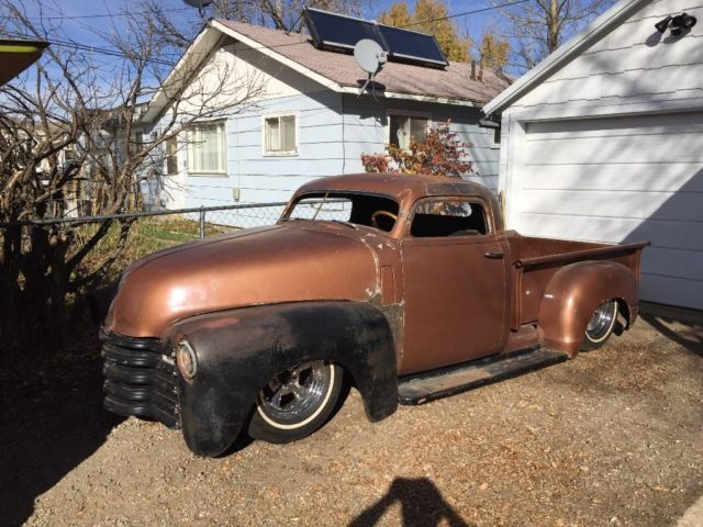 1950 Chevy Chopped Dropped Bagged Hot Rat Rod Mean Kustom