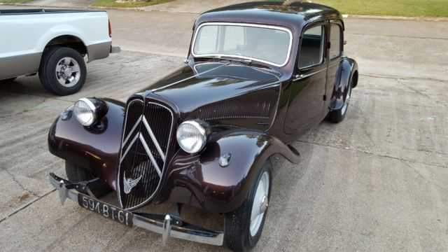 Ex Police Car Auctions >> 1950 Citroen Traction Avant 11BL