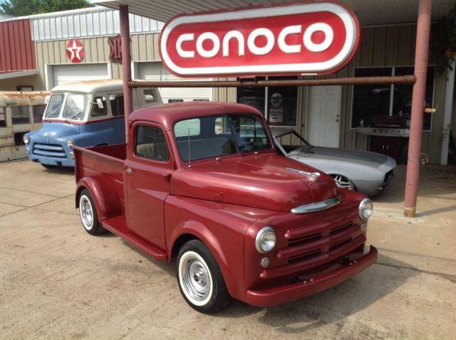 1950 Dodge 5 Window Truck Chevy Drivetrain Rat Rod Hot