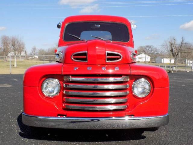1950 Ford F-100 9999 Miles Red Pickup Truck V8 5.7L Automatic
