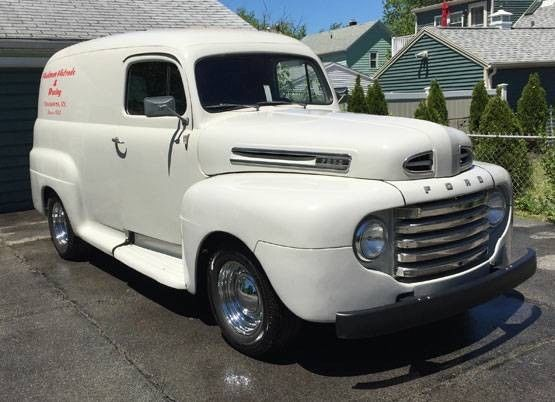 1950 ford f1 panel truck. Black Bedroom Furniture Sets. Home Design Ideas