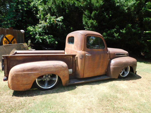Ford F E X together with Ford F Street Rod Truck Ground Up Build Hot Rod Black also A F C E Abd F D A D besides Ford F Patina Rat Rod Hot Rod in addition Hqdefault. on 1950 ford f1 truck frame