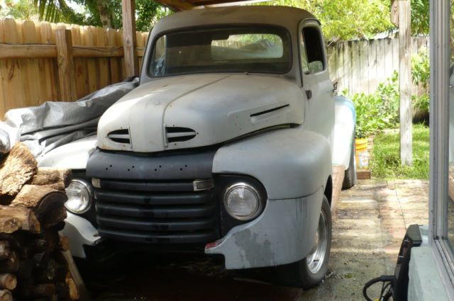 Ford F Truck Original Flathead Ba V