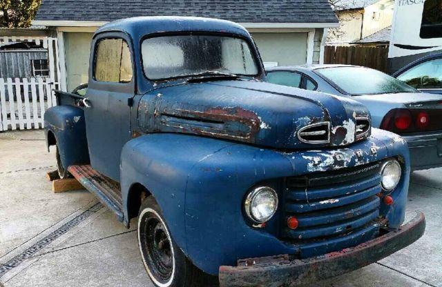 1950 Ford F100 F1 Rat Rod Patina Restomod All Steel